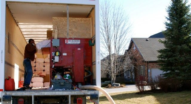 Blown In Insulation Burlington Insulation Complete Roofing